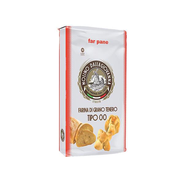 "Leipäjauho Pane-SSP ""00"" W-400 | Ciabatta Flour | MOLINO DALLAGIOVANNA | 5 kg"