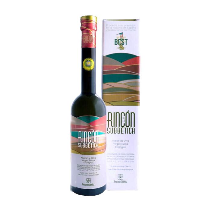 Luomu Ekstraneitsytoliiviöljy Rincón de la Subbética DOP | Organic EVOO Rincon | ALMAZARAS DE LA SUBBETICA | 500 ML