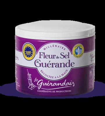 Fleur De Sel De Guerande Merisuola | Sea Salt | LE GUERANDAIS | 125 G tube