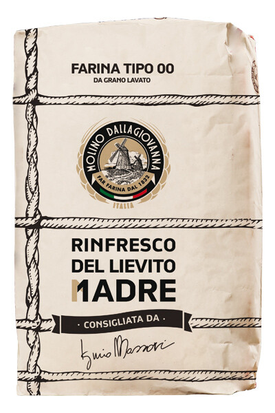 "Hapan taikina juoho ""Lievito Madre"" W-380 | Flour for Sourdough Starter | MOLINO DALLAGIOVANNA | 1kg"