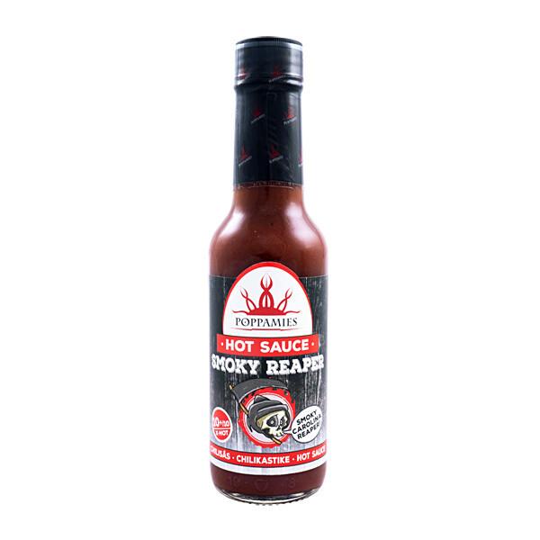 Smoky Reaper -Chilikastike | Hot Chili Sauce | POPPAMIES | 150 ml