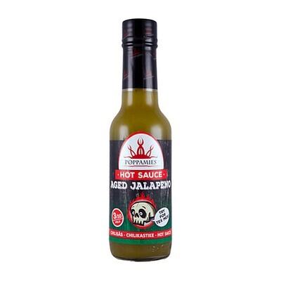 Ikäinen Jalapeno -Chilikastike | Aged Jalapeno Hot Sauce | POPPAMIES | 150ml