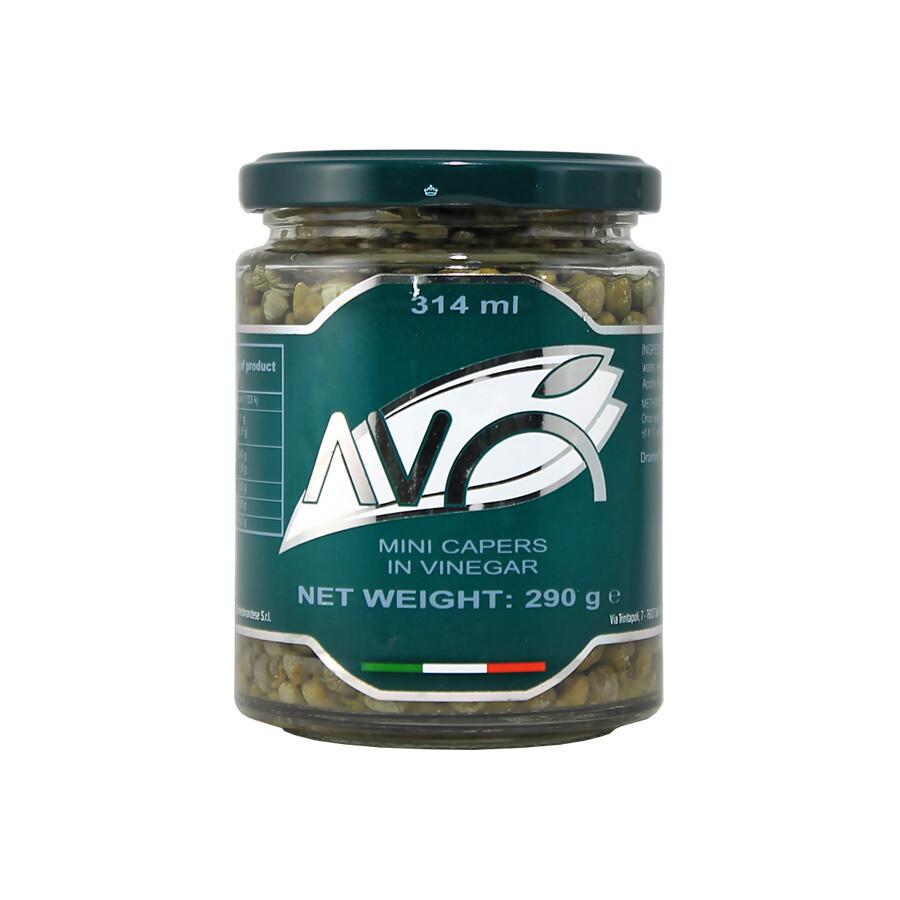 Mini Capers In Vinegar | AVO | 290 g