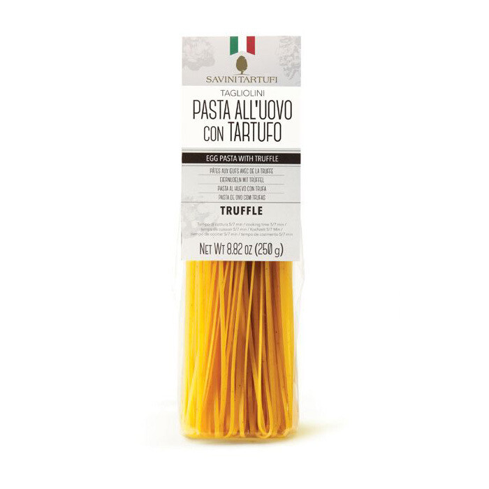 Tagliolini-munapasta mustatryffeli | Black Truffle Eggs Pasta | SAVINI TARTUFI | 250g