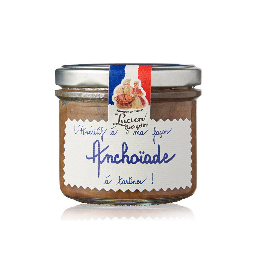Anchoiade Anchovy Spread | LUCIEN GEORGELIN | 100g