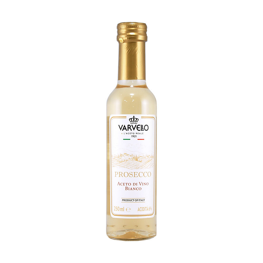 Prosecco kuohuviini etikka | Prosecco Sparkling Wine Vinegar | VARVELLO | 250ml