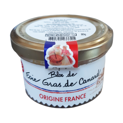 Ankanmaksa pate (Block de Foie Gras de Canard) | Duck Foie Gras | LUCIEN GEORGELIN | 80g