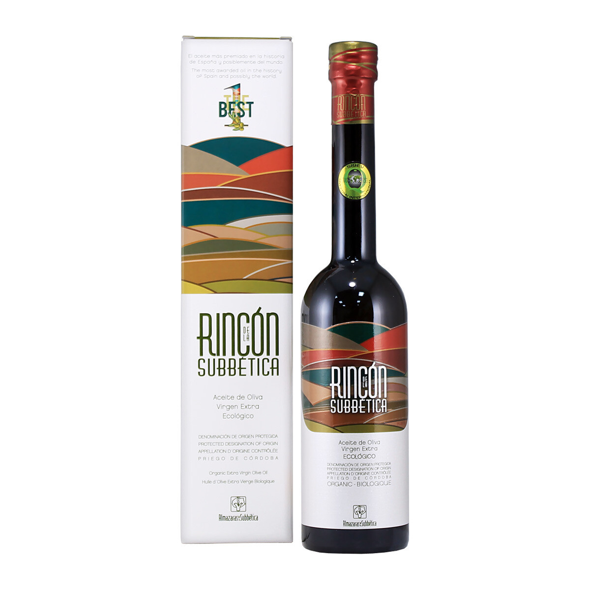 Organic EVOO Rincon | ALMAZARAS DE LA SUBBETICA | 500 ML