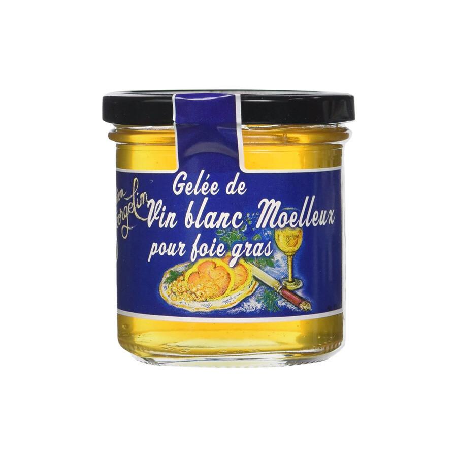 Moelleux- Valkoviinihyytelö | Moelleux White Wine Jelly | LUCIEN GEORGELIN | 150G