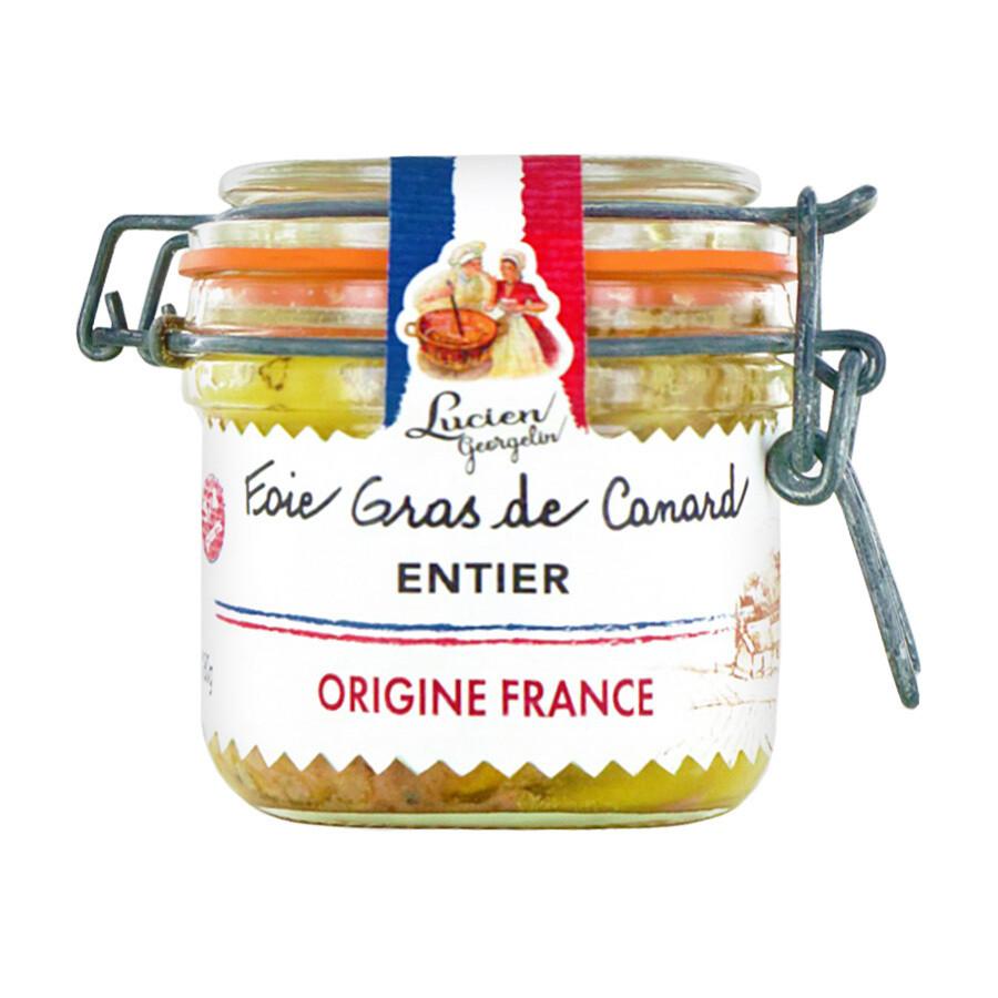 Ankanmaksa Alkuperä Ranskasta | Whole Duck Foie Gras Origin France | LUCIEN GEORGELIN | 180 g
