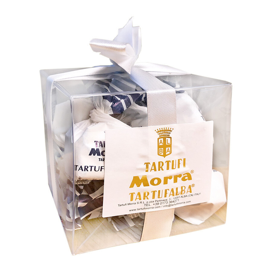 Chocolate truffles with hazelnut | TARTUFI MORRA | 250g