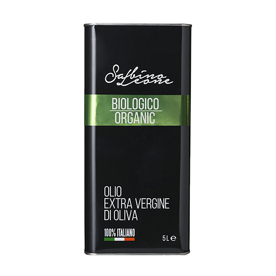 Luomu Ekstraneitsytoliiviöljy | SABINO LEONE | 5 L