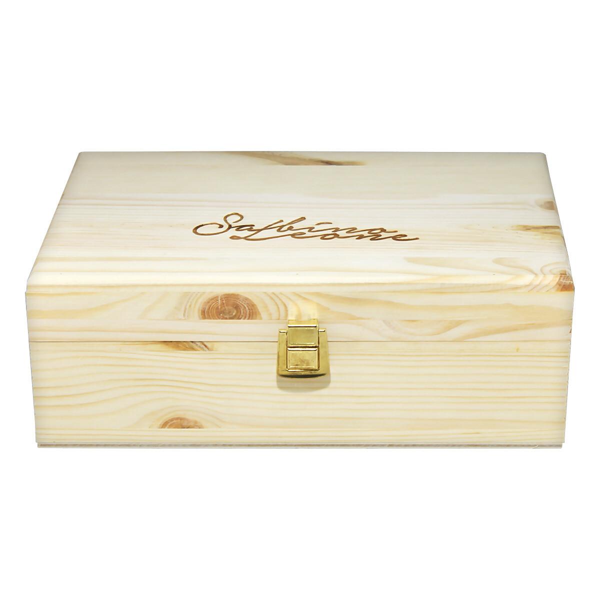 Puu lahjapaketti | Wood Gift Box | SABINO LEONE