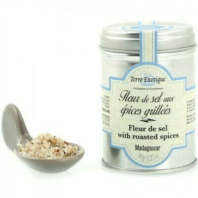 Fleur De Sel With Roasted Spices | TERRE EXOTIQUE | 90 G