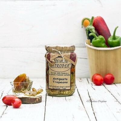 Antipasto Tropeano oliiviöljyssä | DELIZIE VATICANE DI TROPEA | 280 g