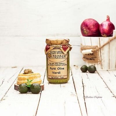 Vihreä oliivitahna | DELIZIE VATICANE DI TROPEA | 180 g