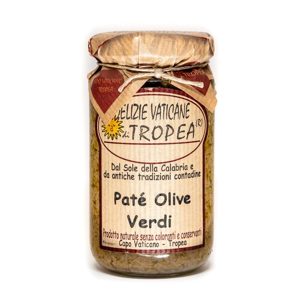 Tropeano Green Olive Pate | DELIZIE VATICANE | 180g