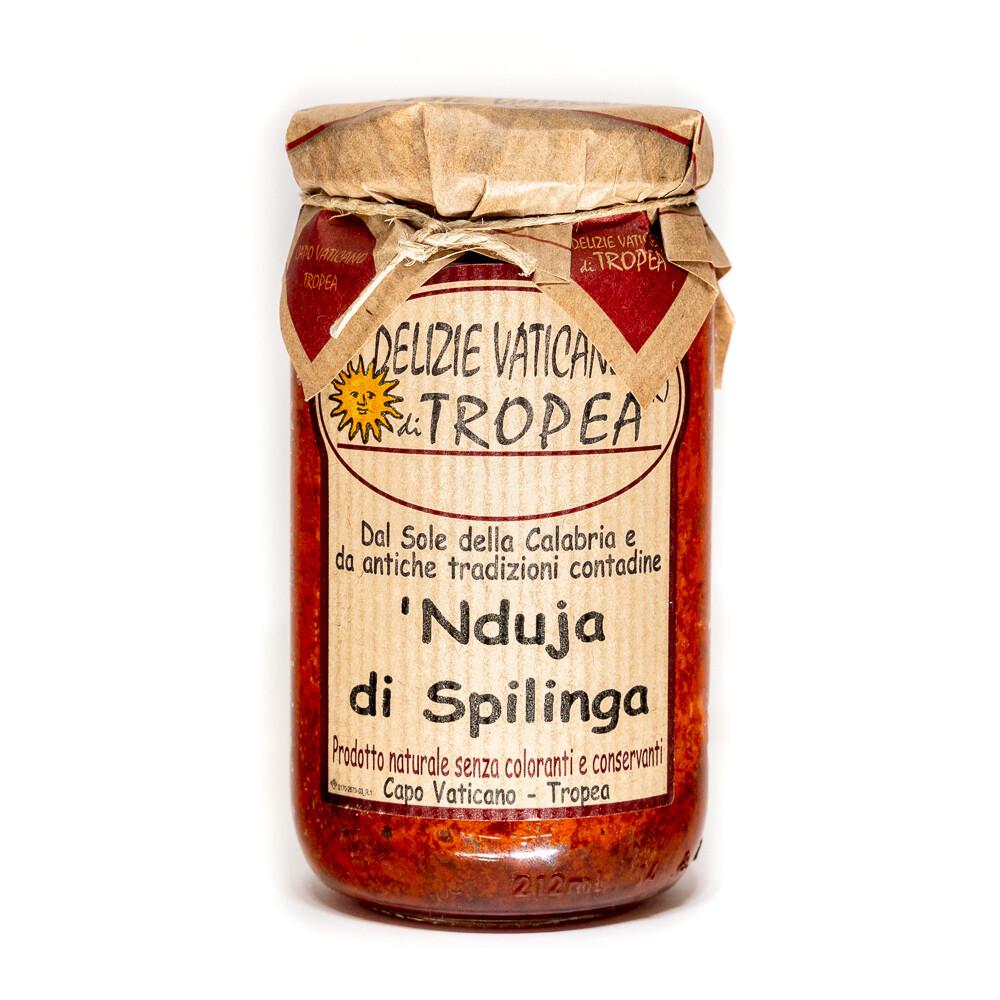 'Nduja di Spilinga Salamilevite Oliiviöljyllä | DELIZIE VATICANE DI TROPEA | 180g