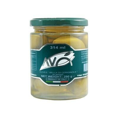 Bella di Cerignola GGG Olive in Brine | AVO | 290g
