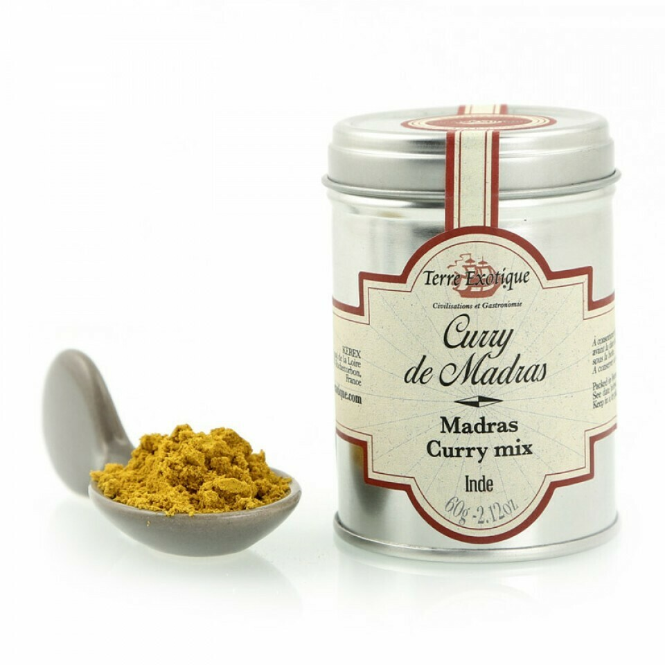 Madras curry | TERRE EXOTIQUE | 60g