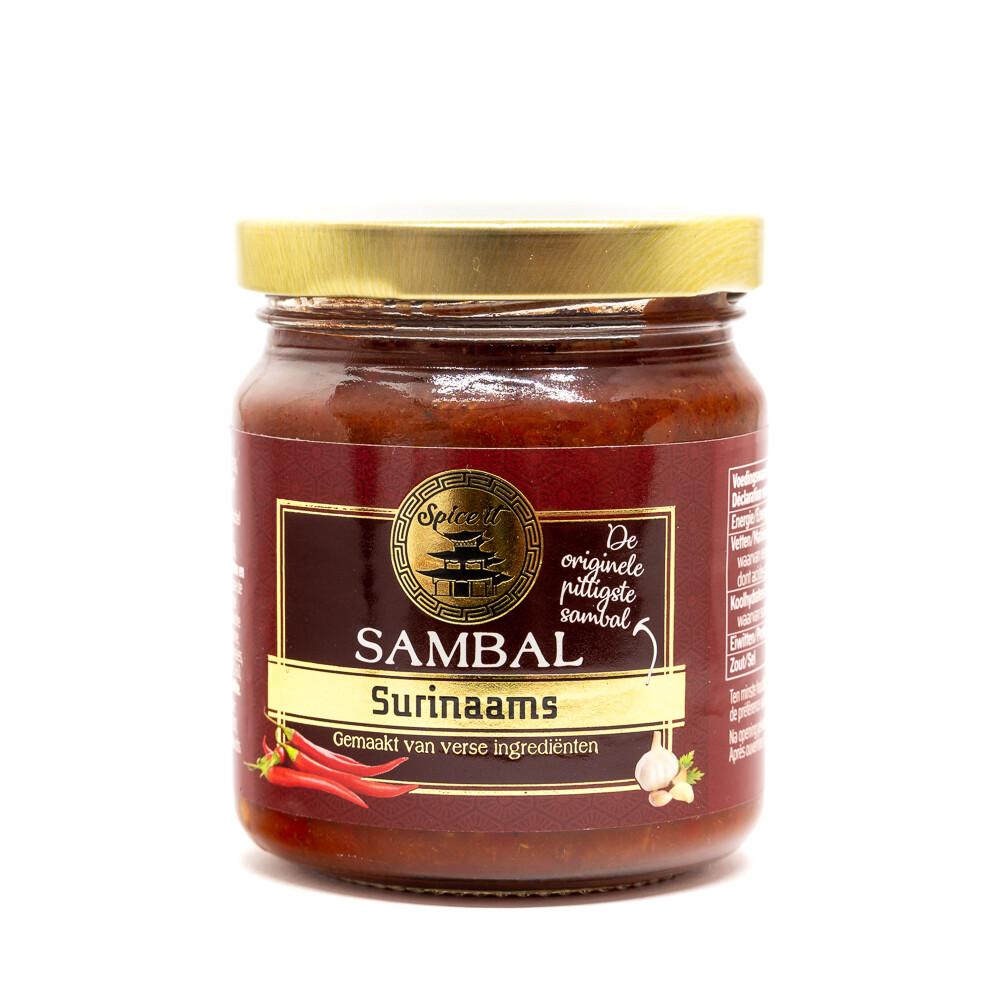 Sambal Surinaams kastike | SPICE IT | 200g