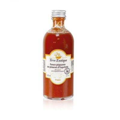 Espelette chilikastike   Espelette Pepper Sauce   TERRE EXOTIQUE   100 ml