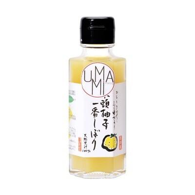 Luomu Käsin Puristettu Yuzu-Mehu | Hand Pressed Yuzu Juice | UMAMI | 100ml