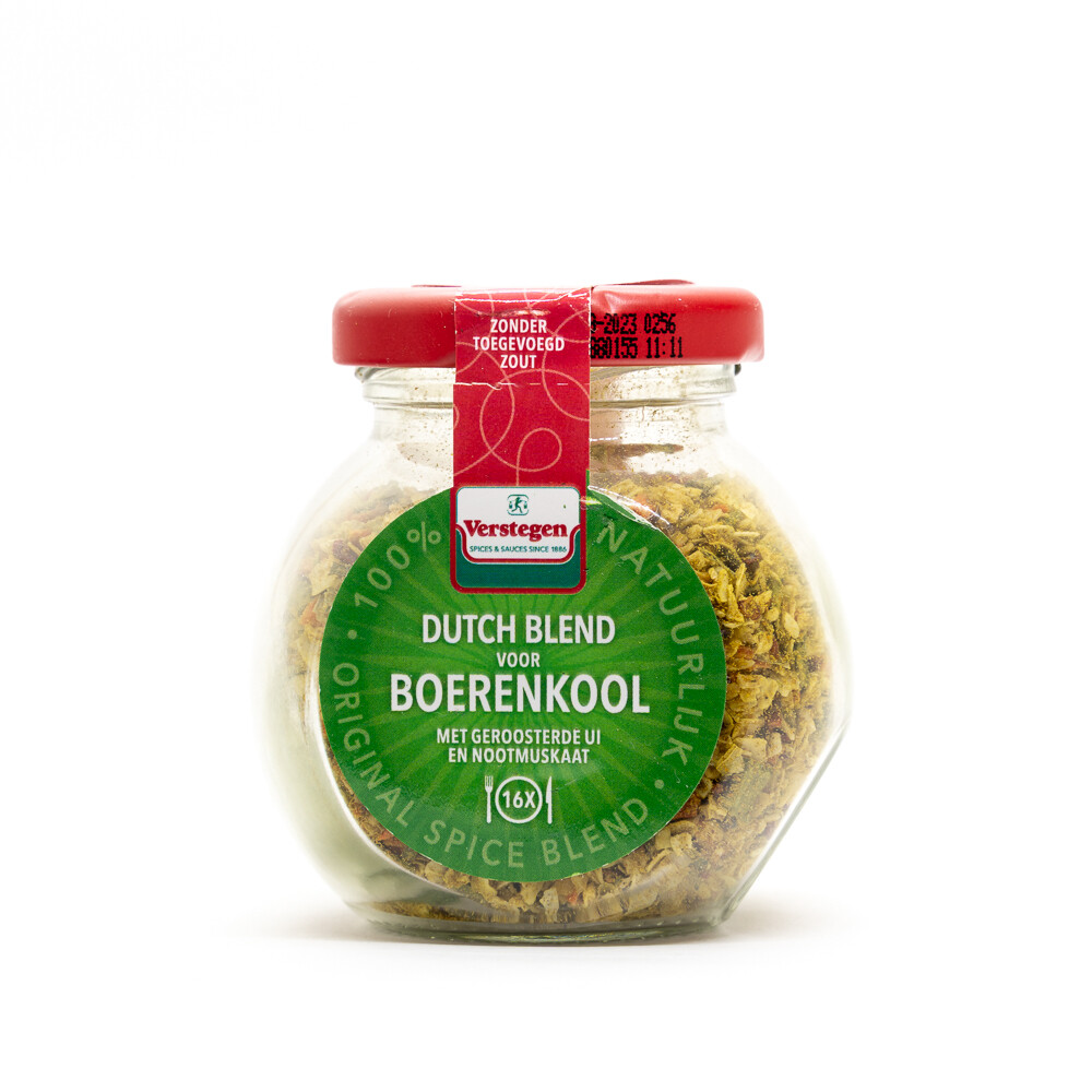 Dutch Spice Mix for Kale Stamppot   VERSTEGEN   63g