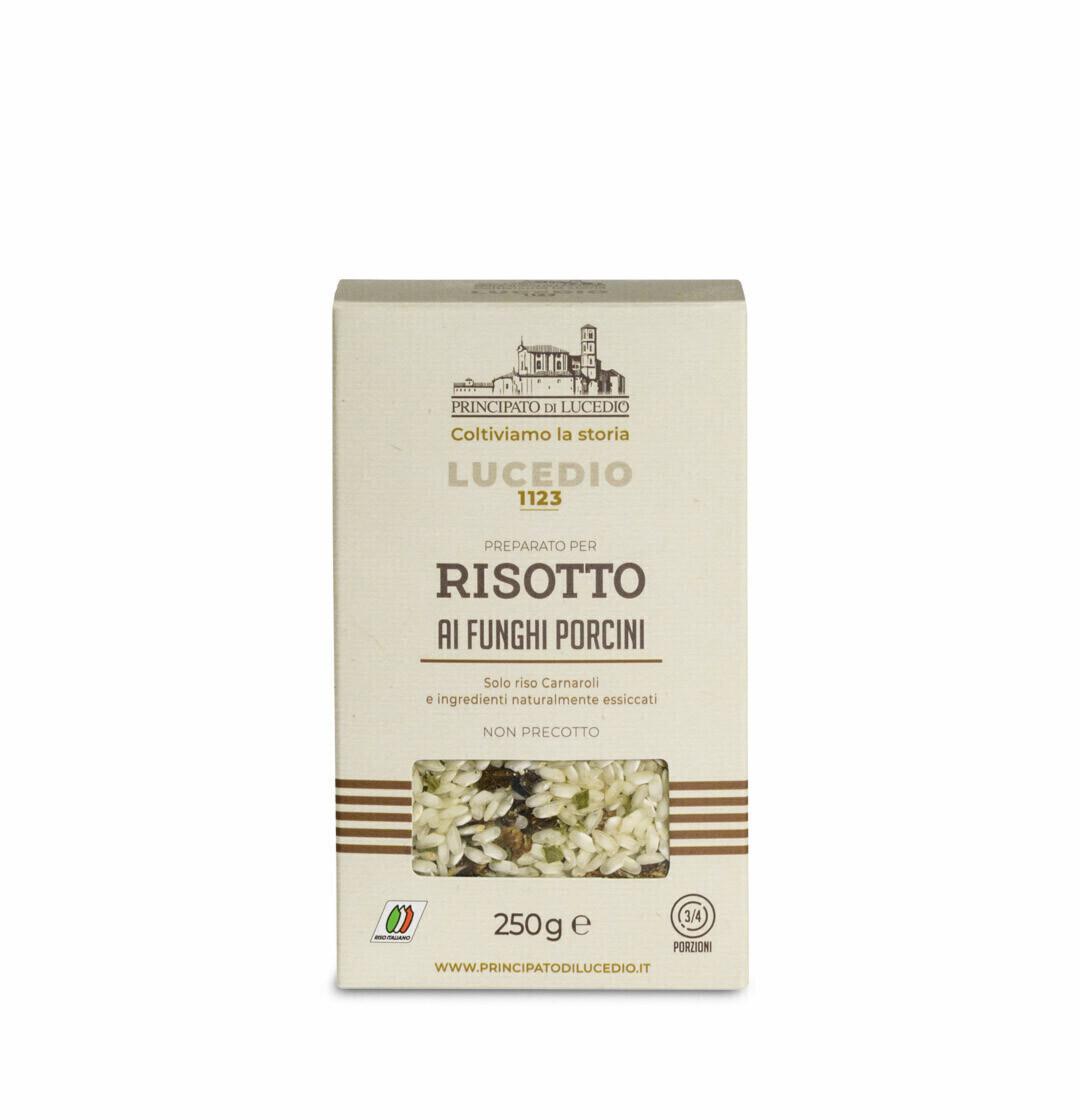 Risotto Porcini -sienillä   Risotto with Porcini Mushrooms   PRINCIPATO DI LUCEDIO   250g