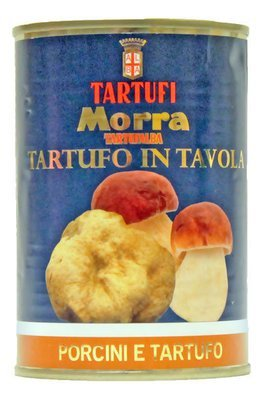 Porcini And White Truffle Cream Sauce | TARTUFI MORRA | 370g
