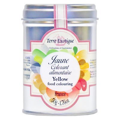 Yellow food colouring | TERRE EXOTIQUE | 50 g