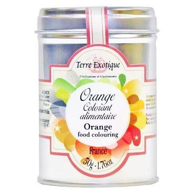 Orange food colouring | TERRE EXOTIQUE | 50 g