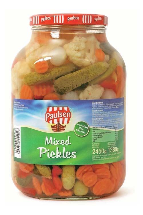 Pikkelsisekoitus | Mixed Pickles | ALFRED PAULSEN | 2650 ML