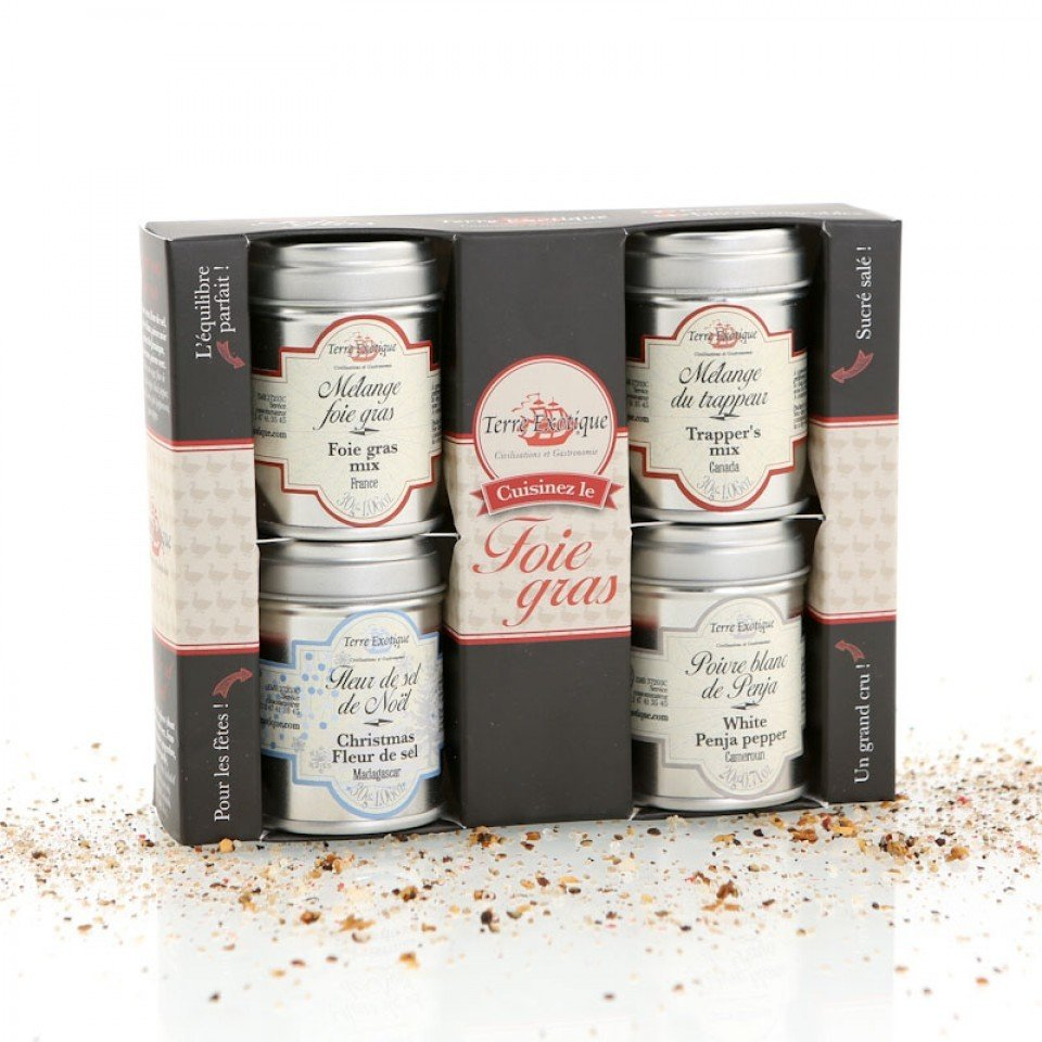 """Discovery Box """"4 Spices For Foie-Gras"""" 