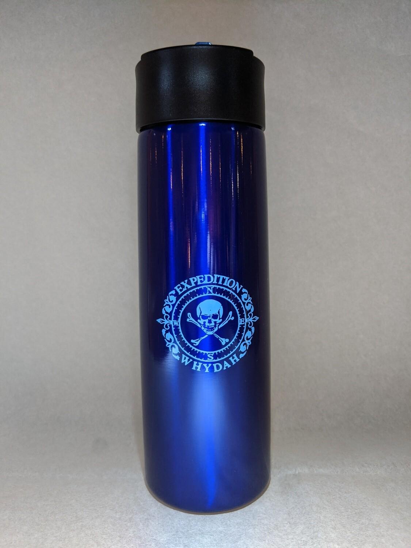 Flip top Stainless Steel Water Bottle