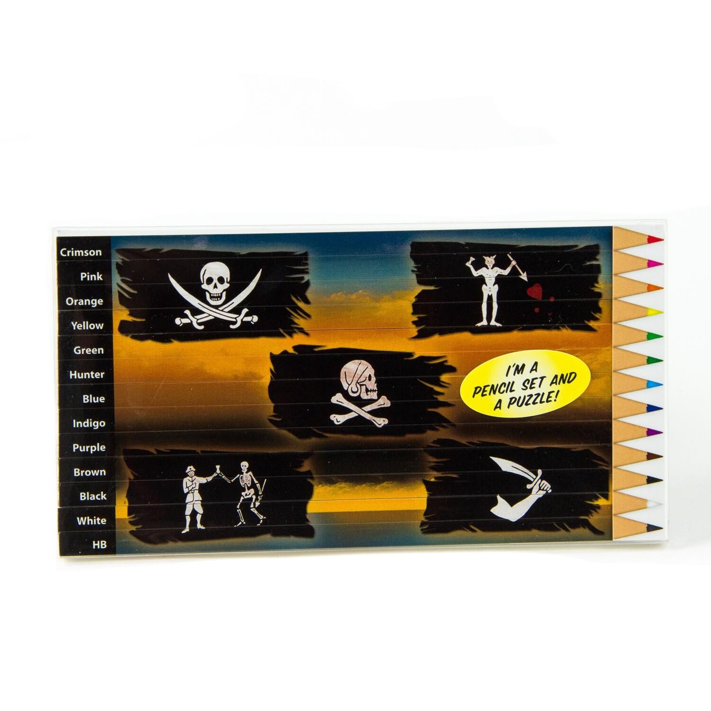 Pirate Colored Pencil Set