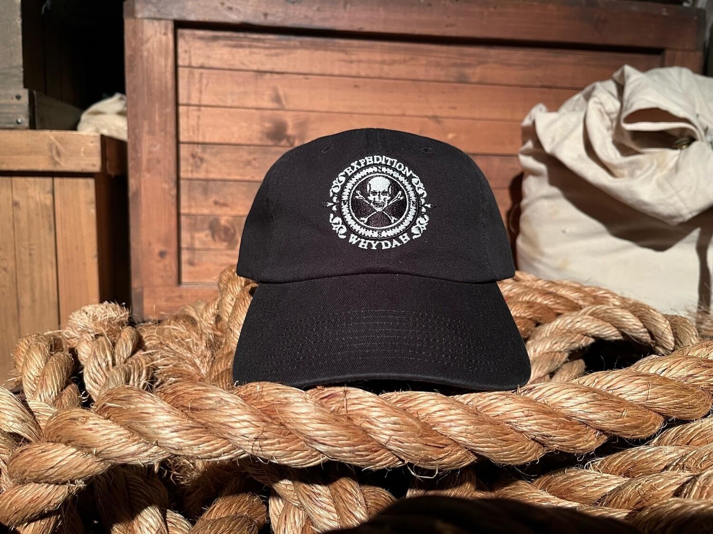 Black & White Expedition Whydah Baseball Hat