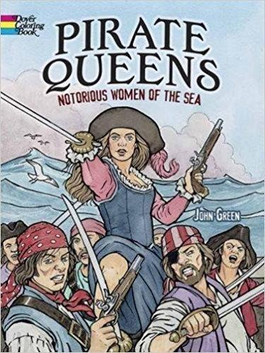 Pirate Queens Coloring Book