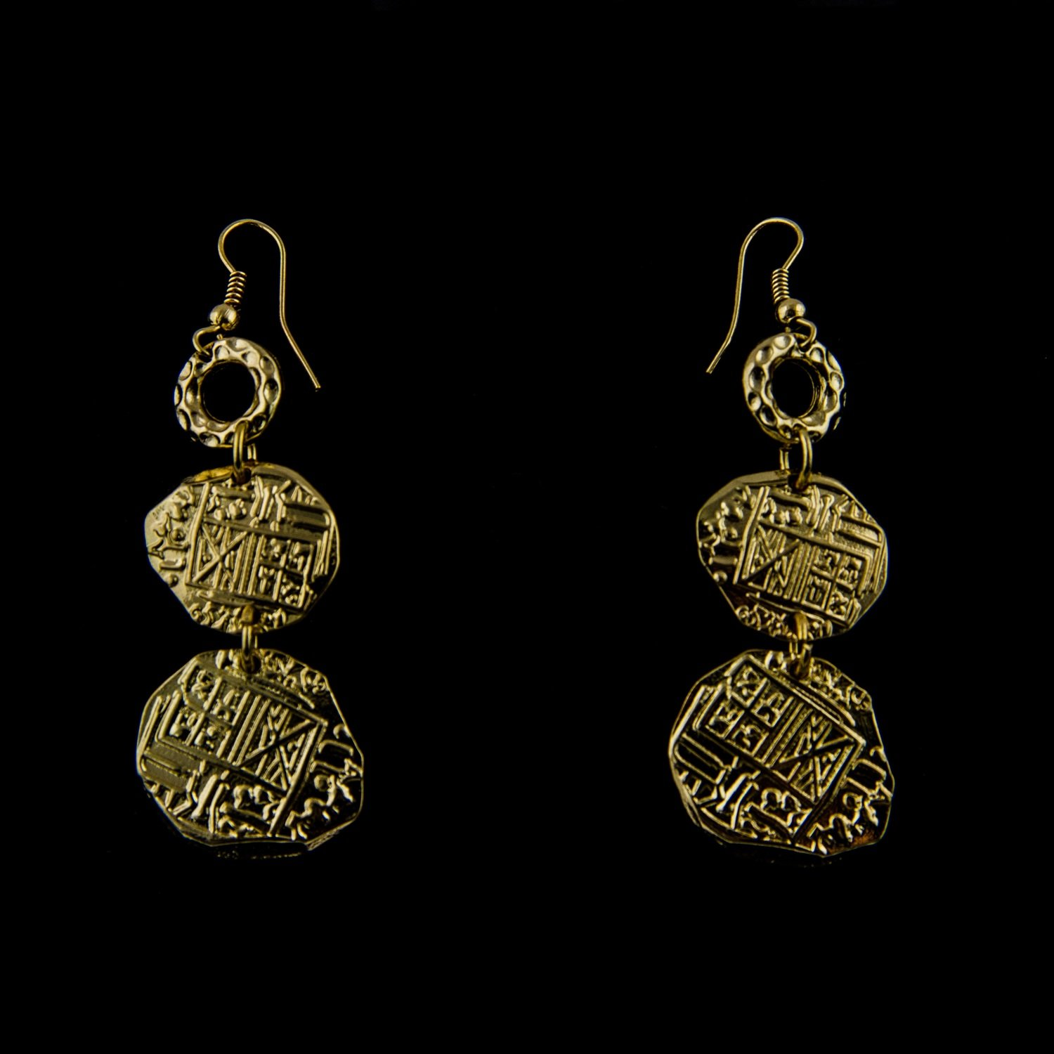 Pieces of 8 earrings