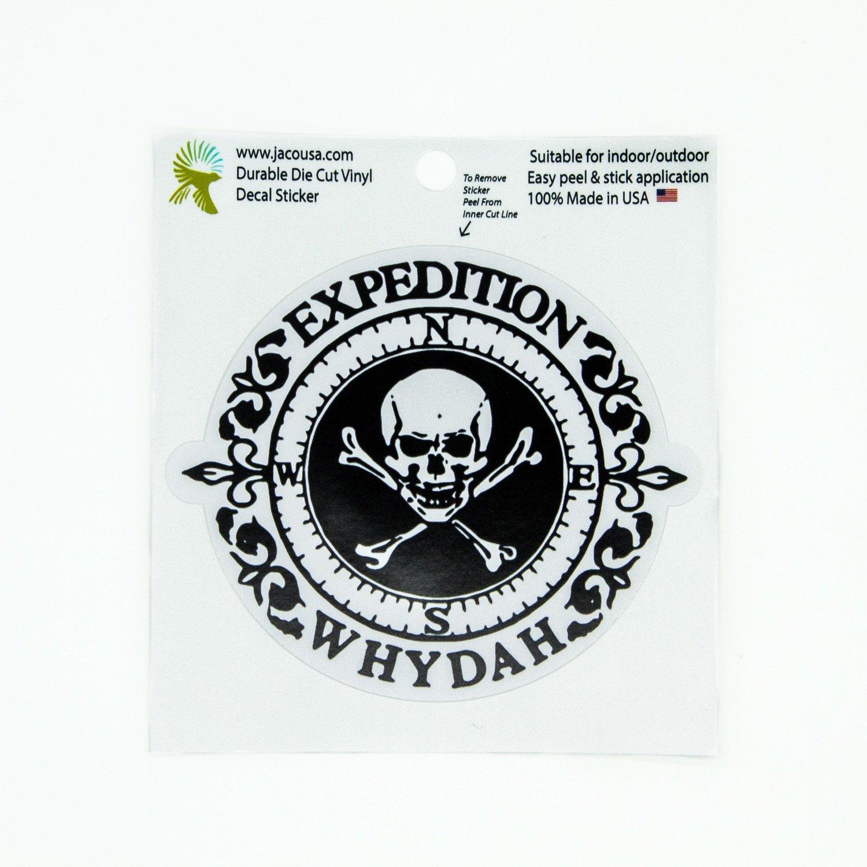 Vinyl Expedition Whydah Sticker
