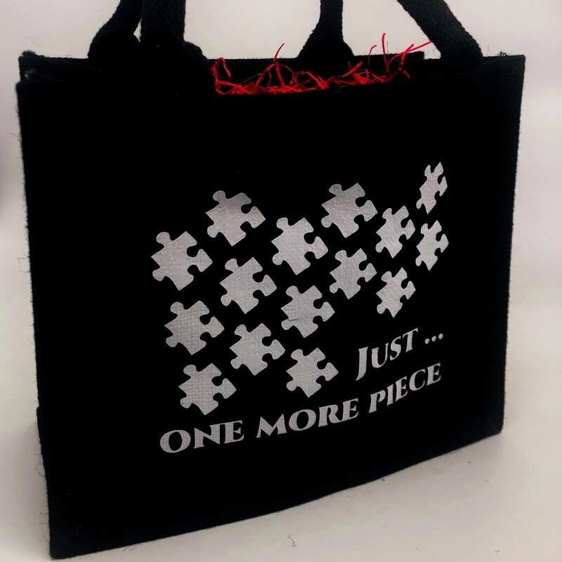Jigsaw Lovers Jute Bag
