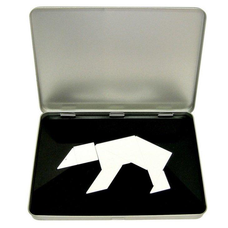 Polar Bear Tangram Puzzle