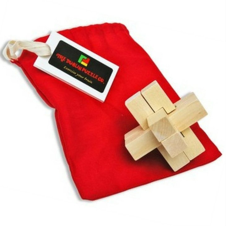 Cross Chuck Wooden Puzzle