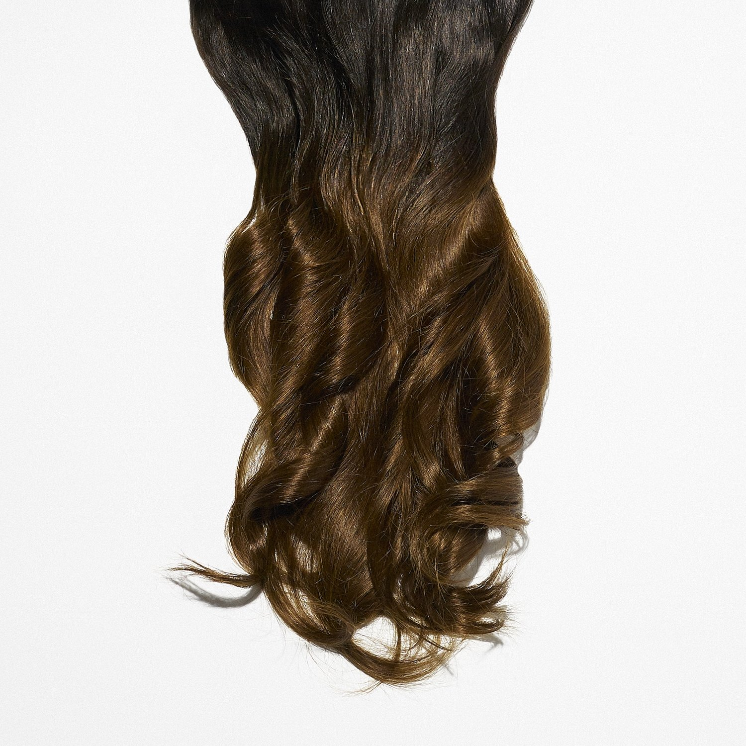 Natural Black to Medium Brown Ombre #1BT4