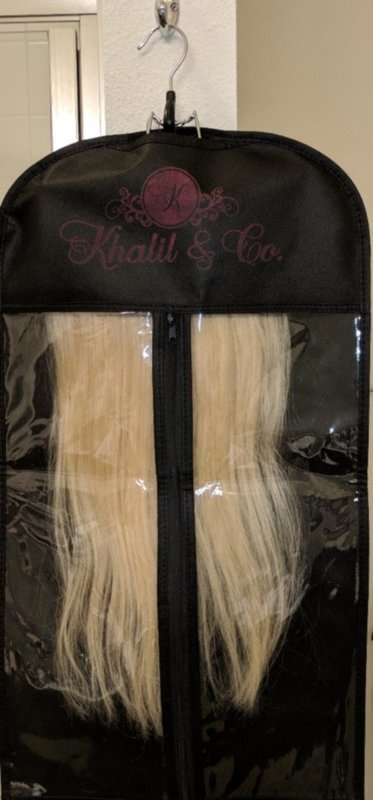 Hair Extensions Hanging Carrier