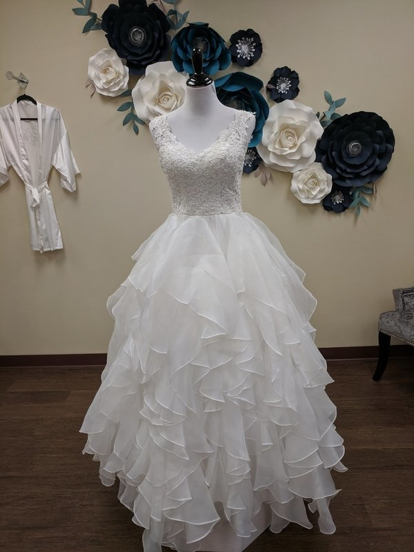 Light and Airy Ball Gown Size 8-12- OFF THE RACK ONLY