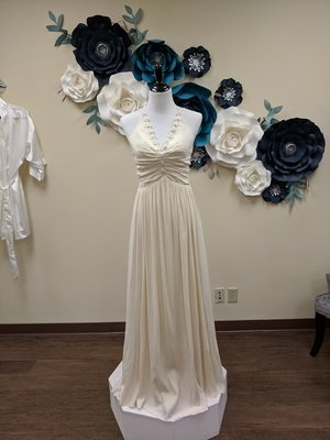 Handmade Silk Gown Size 4