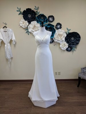 Halter Gown Sample Size 8