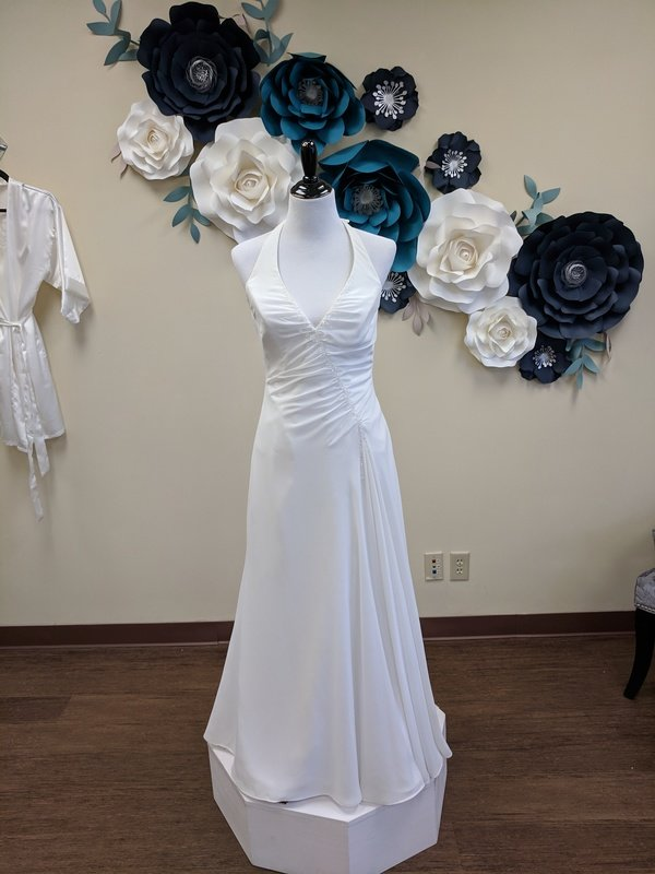 Maggie Soterro Halter Gown Size 10