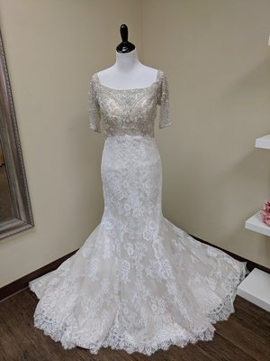 Allure Couture Gown Sample size 12 - OFF THE RACK ONLY